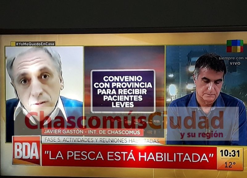 Intervención en América TV.
