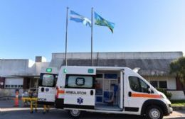 Nueva ambulancia para el Hospital San Vicente de Paul